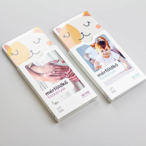 Minimál állatok baba mérföldkő kártya | Babaváró ajándék kismamáknak